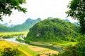 Outside Phong Nha Ke Bang natural preserve, Vietnam Royalty Free Stock Photo