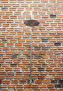 Outside shower on brick wall Stock Photography