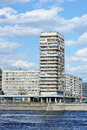 The outskirts of st petersburg view buildings on russia Royalty Free Stock Photo