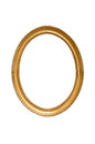 Oval decorative picture frame Royalty Free Stock Photo