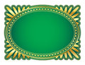 Oval frame Royalty Free Stock Photography