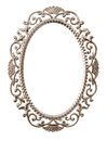 Oval ornate frame Stock Images