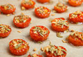 Oven-Roasted Cherry Tomatoes Royalty Free Stock Photography