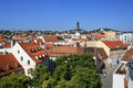 Over roofs of Bratislava