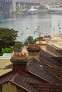 Over the Rooftops of North Sydney Stock Photography