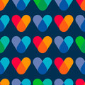 Overlapping colors. Colorful seamless pattern