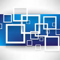 Overlapping squares concept background vector Royalty Free Stock Photos