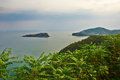 Overlook the bangchui island dalian photo taken in china s liaoning province city binhai road eastern section Royalty Free Stock Photos