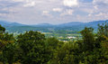 Overlook in Craig County, Virginia Royalty Free Stock Photo