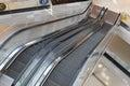 Overlook escalator Royalty Free Stock Photo