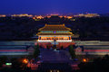 Overlook the Forbidden City Royalty Free Stock Photo