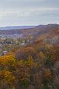 Overlooking Autumn Landscape F...