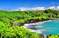 Overlooking Hawaii Royalty Free Stock Photo