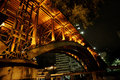 Overpass santa efigência são paulo in the city center of brasil at night photo marcelo alves the ifigenia viaduct is a Royalty Free Stock Photo