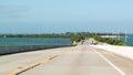 Overseas Highway and Long Key, Florida Keys Royalty Free Stock Photo