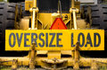 Oversize Load Royalty Free Stock Photos