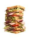 Oversized sandwich Royalty Free Stock Photo