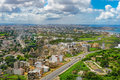 Overview of Dakar from the observation deck Royalty Free Stock Photo