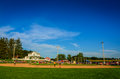 Overview of Field of Dreams Movie Site - Dyersville, Iowa Royalty Free Stock Photo
