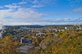 Overview of Halden city Royalty Free Stock Image