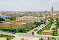Overview of Monastir from the ribat Royalty Free Stock Photo
