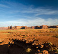 Overview of the monument valley in utah in united states america Royalty Free Stock Photos