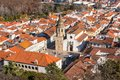 Overview old town tomar portugal horizontal shot Royalty Free Stock Photos