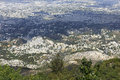 Overview of port au prince a high view overlooking the city haiti Stock Photography