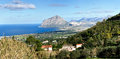 Overview of San Vito Lo Capo Royalty Free Stock Photo