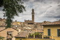 Overview of Siena, Italy Royalty Free Stock Photo