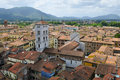 Overwiew of lucca, italy Royalty Free Stock Photography