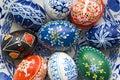 Ovo de Easter pintado Imagem de Stock