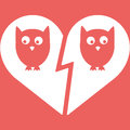 Owl Family Divorce Icon