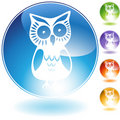 Owl Icon Stock Photography
