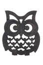 Owl iron rest Fotografia de Stock