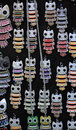 Owl necklaces picture of a Royalty Free Stock Images