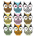 Owls Royalty Free Stock Photos