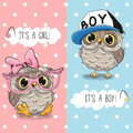 Owls boy and girl