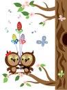 Owls ,easter.