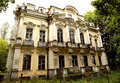 Own summer residence of  Russian tsar Royalty Free Stock Photography