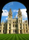 Oxford England All Souls College Oxford University Royalty Free Stock Photo