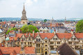 Oxford england cityscape of oxfordshire Royalty Free Stock Image