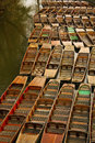 Oxford punts Royalty Free Stock Photo