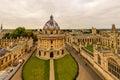 Oxford, Radcliffe camera, Oxford University, England, UK Royalty Free Stock Photo