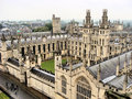 Oxford university Stock Image