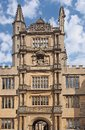 Oxford university bodleian library tower Stock Image