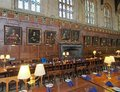 Oxford university college dining hall used as a set in harry potter films Stock Image