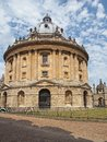 Oxford university library radcliffe camera Royalty Free Stock Image