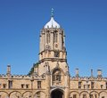 Oxford university tom tower christ church college Stock Photo