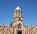Oxford university tom tower christ church college Stock Photo